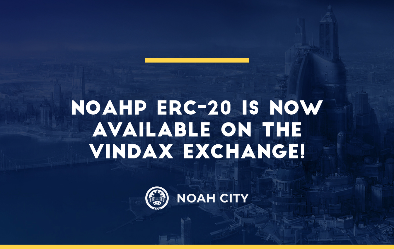 NOAHP ERC-20 to be listed on the VinDAX exchange