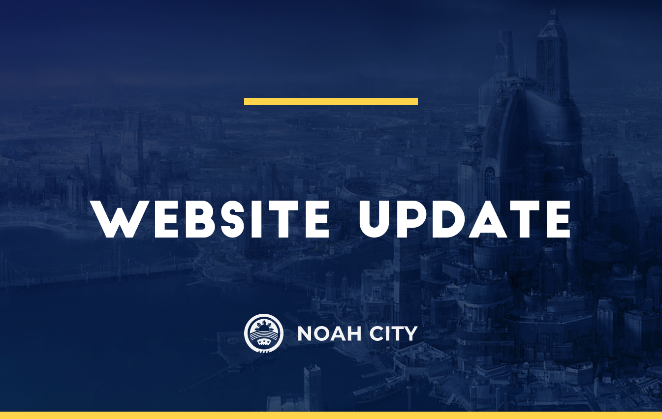 Website update: the first step on the road to Noah DeFi City