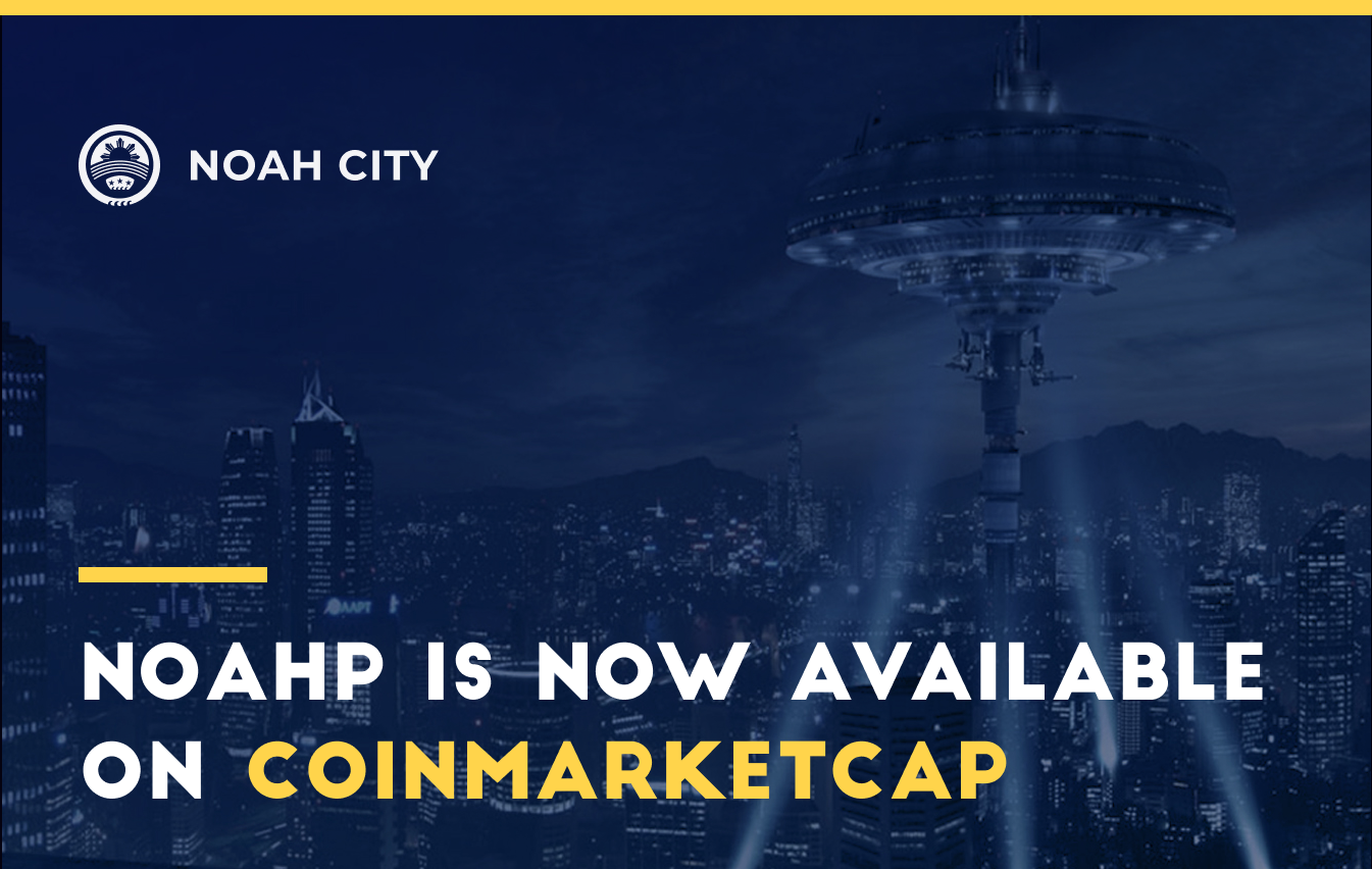 The NOAHP expansion continues: conquering CoinMarketCap!