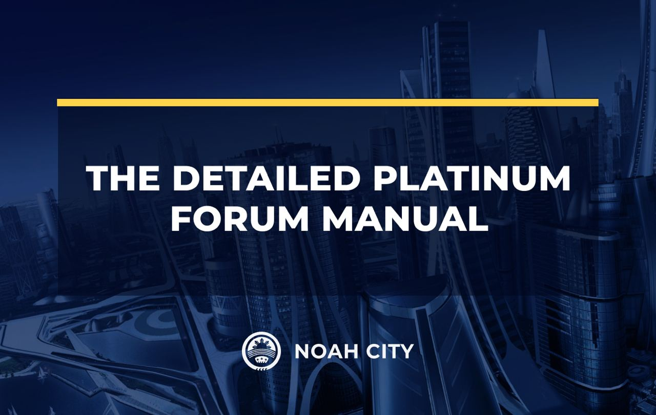 No fuss: just log in and discuss! The detailed Platinum Forum manual